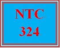 NTC 324 Week 3 Individual: Systems Scenario