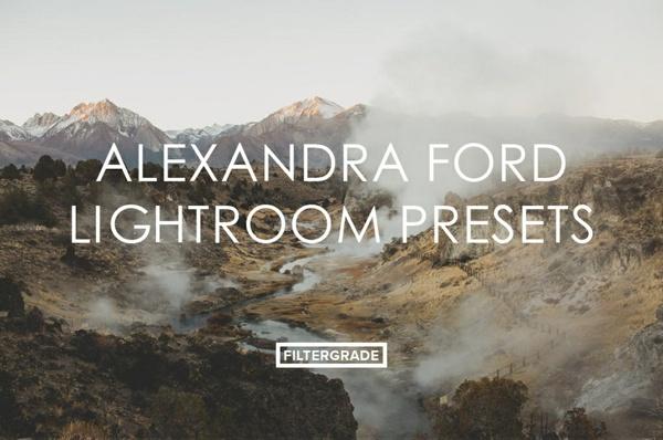 Filtergrade Alexandra Ford Lightroom Presets