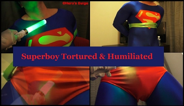 Superboy Humiliated 01