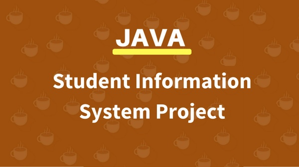 JAVA STUDENT INFORMATION MANAGEMENT SYSTEM