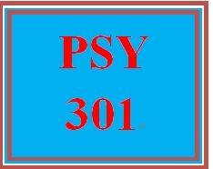 PSY 301 Week 2 Individual Development Plan