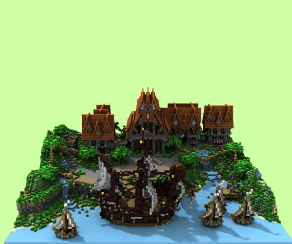 Medieval Harbor hub