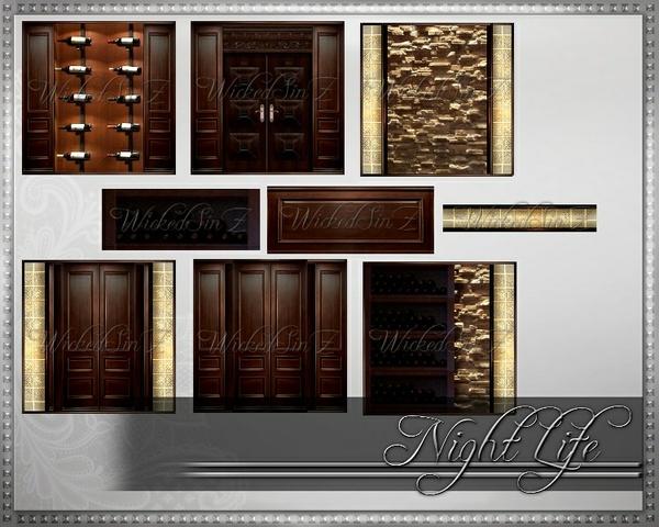 Night Life - Bar Furniture - 10 Textures - $3.00