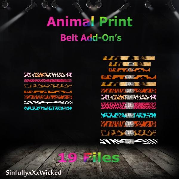 Animal Print Belt Pack