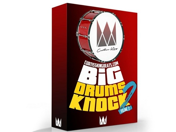 Curtiss King Beats - Big Drums Knock Vol. 2 (Digital Download)