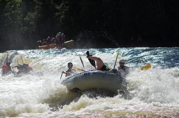Penobscot Rafting Video 08/07/2016