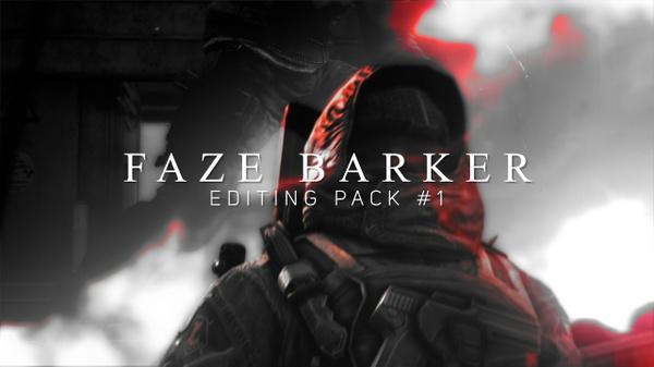 FaZe Barker Editing Pack #1