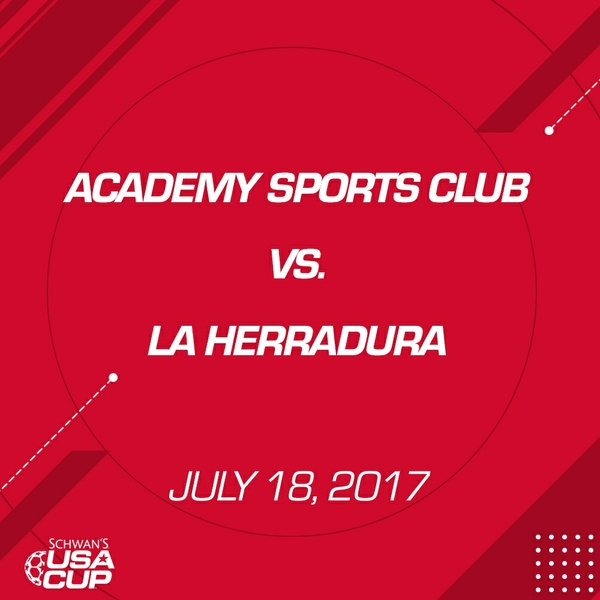 Boys U12 - July 18, 2017 - Academy Sports Club vs La Herradura