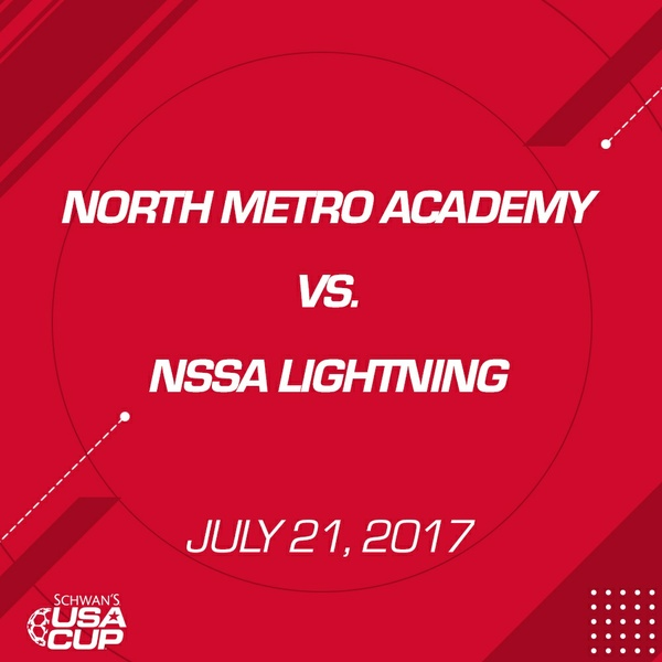 Boys U13 Silver - July 21, 2017 - North Metro Academy vs NSSA Lightning