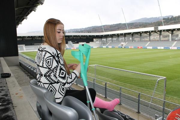 Denise mit SLC im Stadion