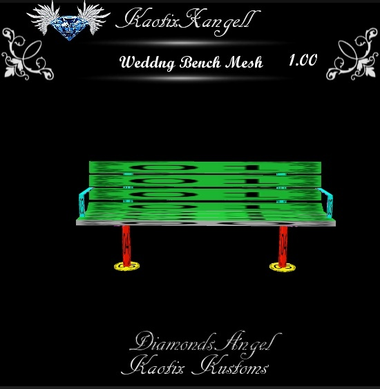 Wedding Bench Mesh