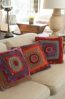 Circle & Square Pillow
