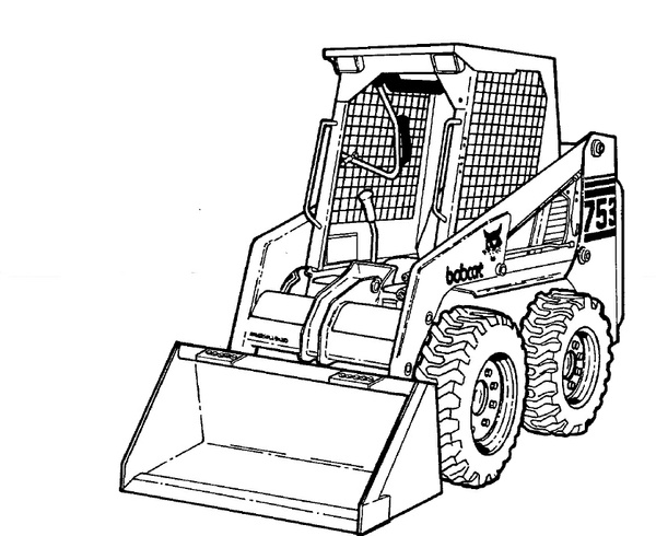 Bobcat 753 Loader Service Repair Manual Download 2