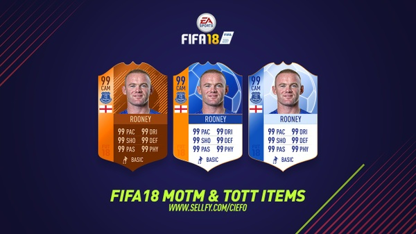 FIFA 18 MOTM ITEMS