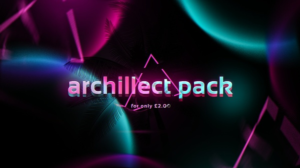 archillect pack 2017 [£2.00/$2.50