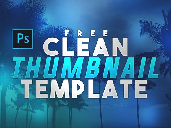 FREE Youtube Thumbnail Template