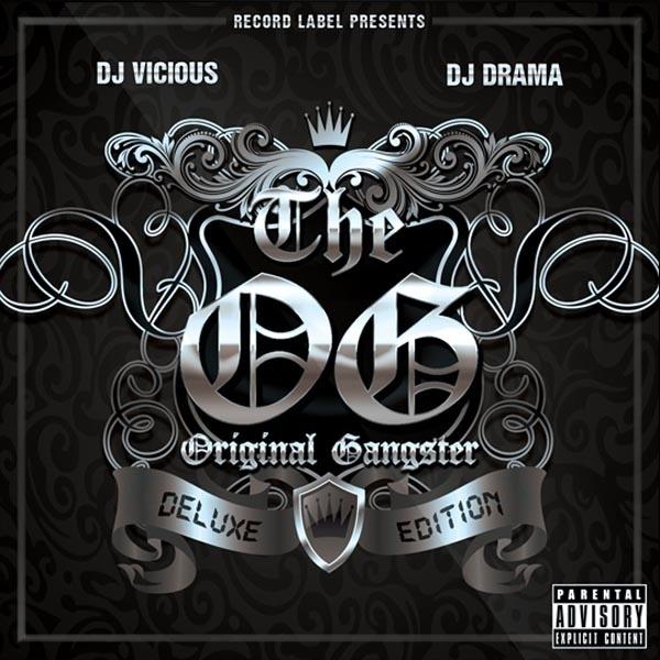 Original Gangster Mixtape Cover Template