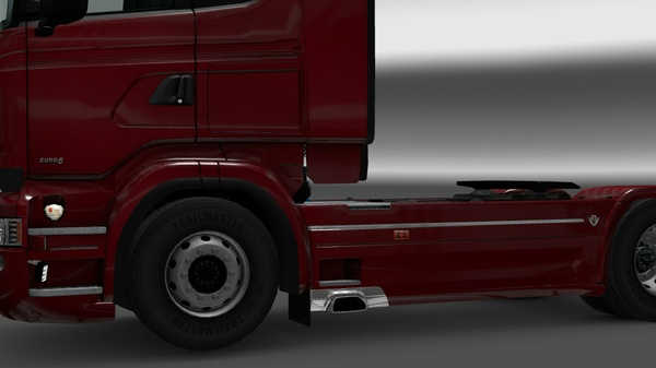 Work light and scania logo for rjl