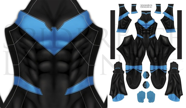 Nightwing Titans Rebirth no honeycomb
