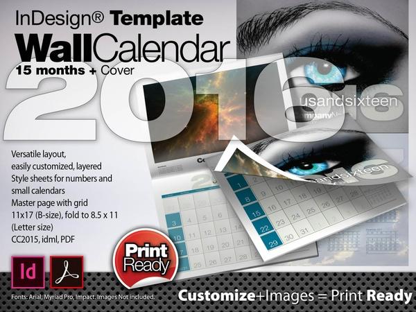 2016 Corporate Calendar Template