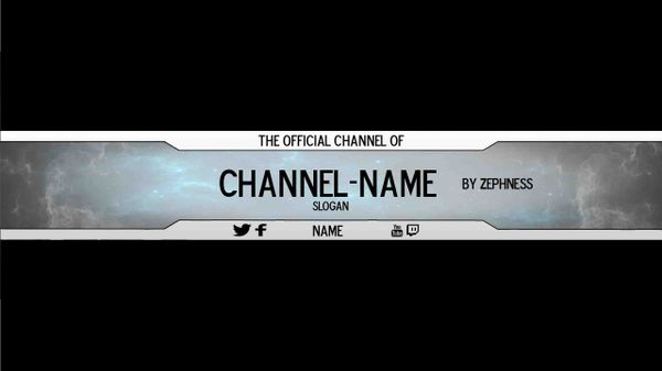 Banner Template by Zephness