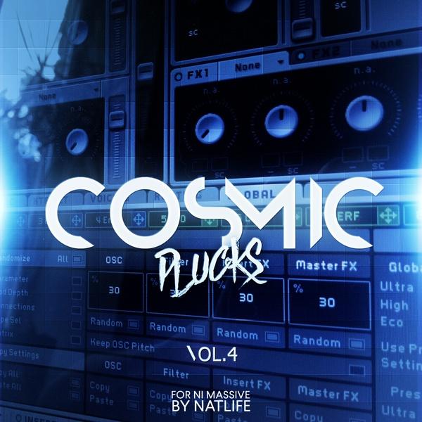 Cosmic Plucks vol.4 for NI Massive