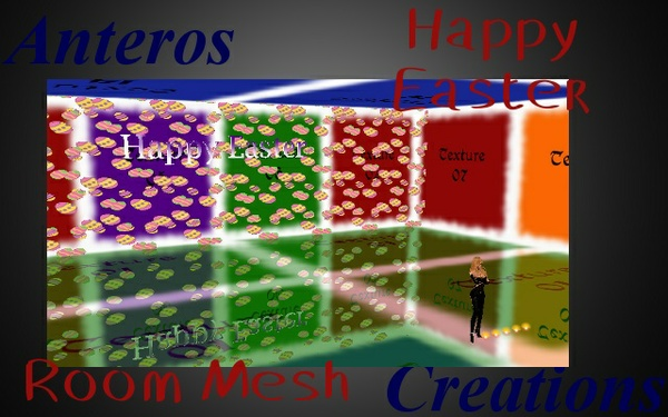 Room Mesh -- Happy Easter