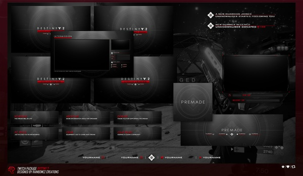 Destiny 2 Twitch Package