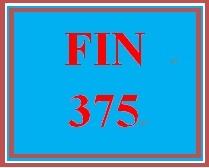 FIN 375 Week 3 LivePlan: Financial Plan Individual Assignment