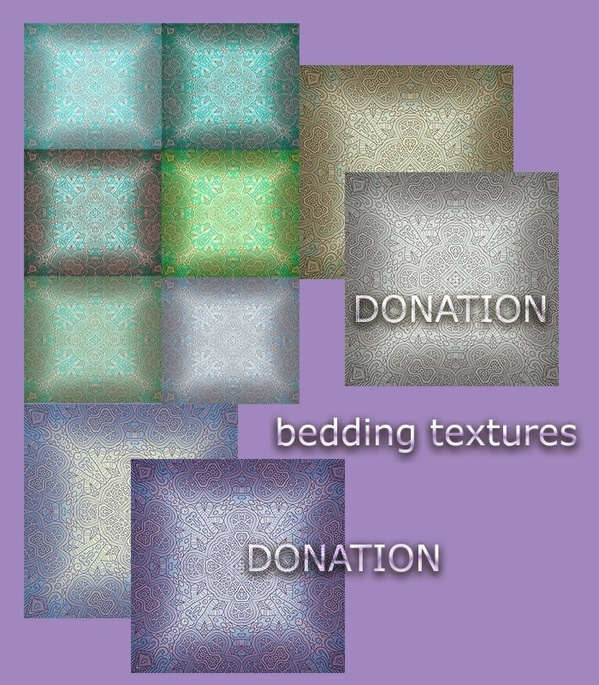 DONATION -BEDDING TEXTURES