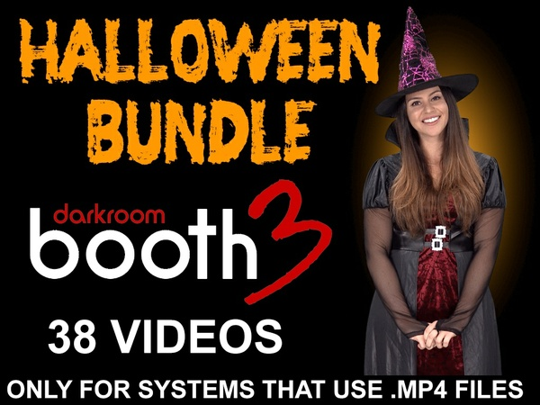 HALLOWEEN BUNDLE - 38 VIDEOS- FOR DARKROOM BOOTH