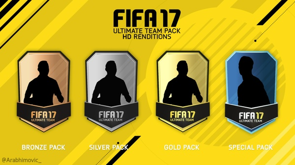 FIFA 17 Ultimate Team HD Pack Renditions