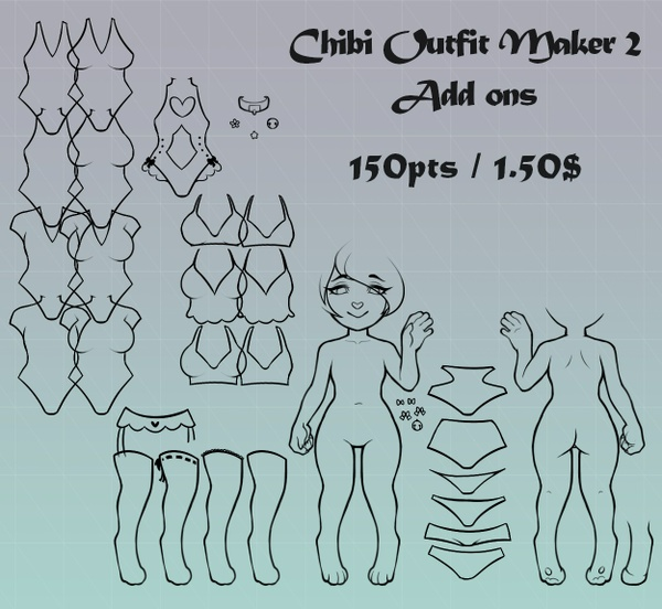 Chibi Outfit Maker 2 Add Ons