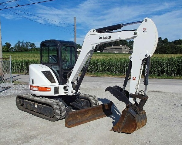 Bobcat 435 Compact Excavator Service Repair Manual (S/N 562611001 & Above, S/N 562811001 & Above...)