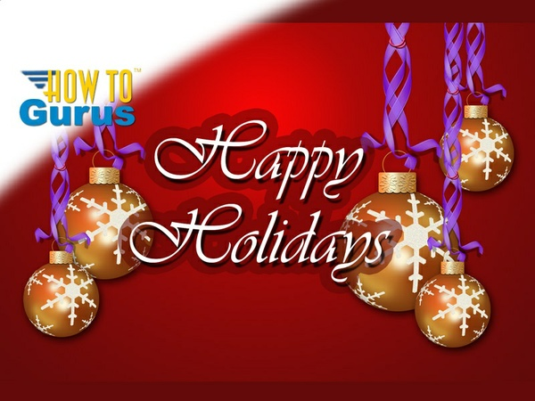 How to make a Christmas Ornament Card completely in Photoshop Elements 11 12 13 14 PSE Tutorial