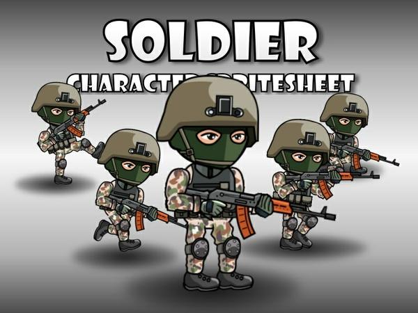 Soldier 43 Woodland Mercenary