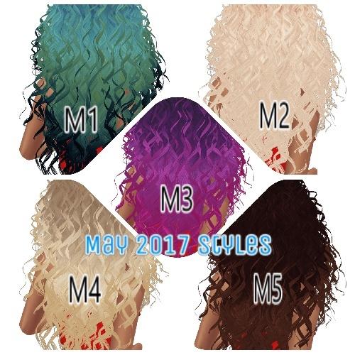 May Hair Textures