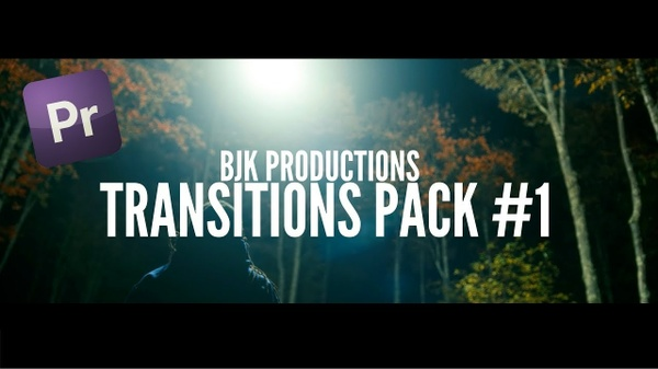 5 INSANE Adobe Premiere Pro CC Transitions  | Transition Pack #1