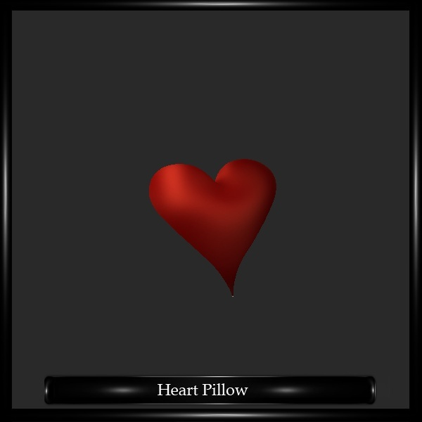 Heart Pillow Mesh