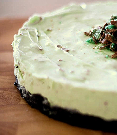 Cheesecake with Cretan Ricotta, Chocolate and Basil