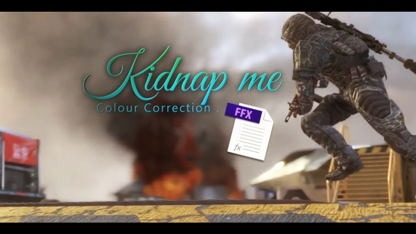Kidnap me Colour Correction