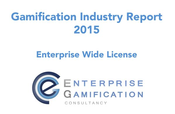 Gamification Industry Report 2015 (Enterprise Wide License)