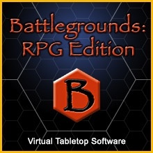 Player Client for Battlegrounds: RPG Edition virtual tabletop software