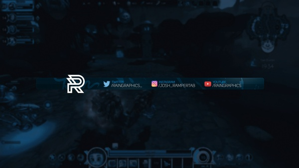 Simple Stream Overlay Template