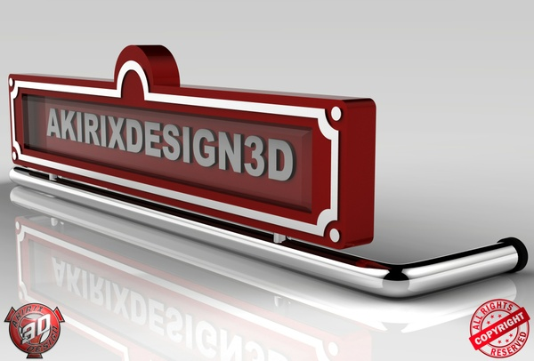3D Oldschool Lightbox Model