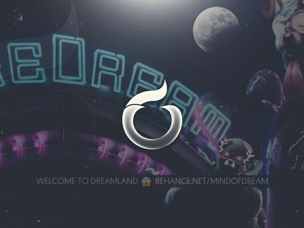 """""""Dreamland"""" Dare Dream Header PSD"""