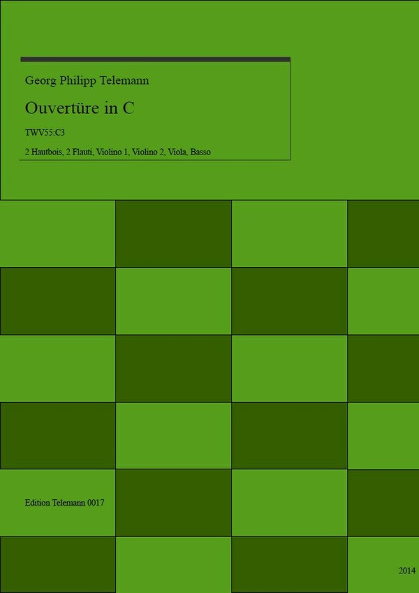 0017 Ouverture in C, TWV55:C3