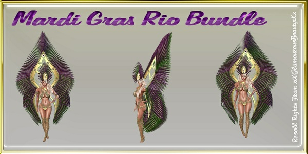 Mardi Gras Rio Bundle Master Resell Rights!!!