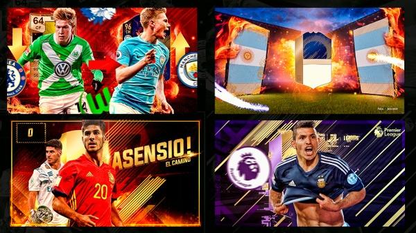 MINIATURAS EDITABLES │ THUMBNAILS FIFA 18