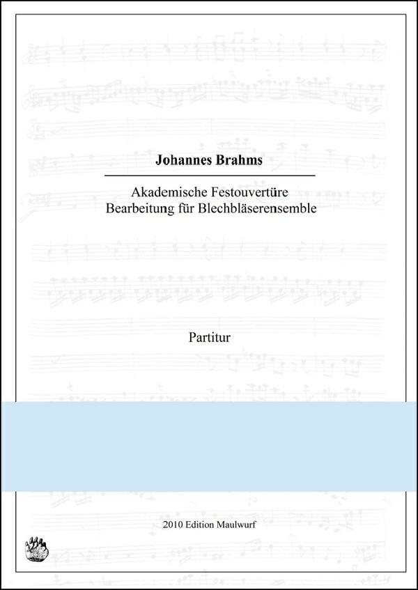 Akademische Festouvertüre (Blechbläserensemble)